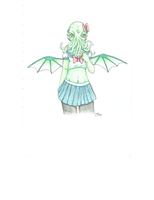 Cthulhu-Chan by indi-dere