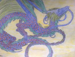 chinese dragon by Ferania