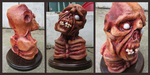 1:2 Scale Feral Ghoul Bust. by APlaceForStuff
