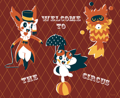 Welcome to the circus by Aonik