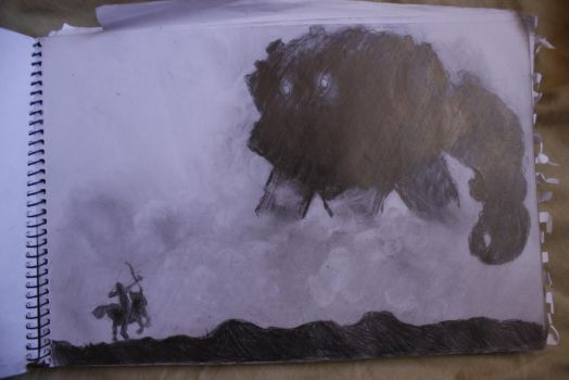 Shadow of the Colossus by EdKrazy