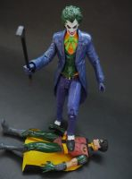 Batman: Under the Red Hood Joker custom figure by Jedd-the-Jedi