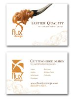 Flux Restaurant Flyer Ad by Gorillastrations