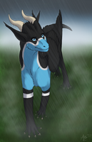 In the Fog and Rain by Scaleeth