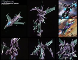 Custom Transformers Prime Voyager Slipstream by chonosmoon
