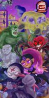 The Evil Titans Go!!! by ChristianStrange3