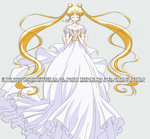 SAILOR MOON CRYSTAL - Princess Serenity by JackoWcastillo
