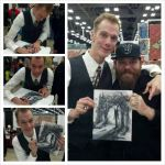 Doug Jones Signed my original Slender man by ChrisOzFulton