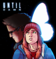 Until Dawn: Ashley and Chris by hummeri9