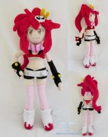 Yoko Littner Gurren Lagann Plush doll by dollphinwing