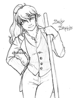 Daily Sketch 15 - Bailey Baggins by chibicca