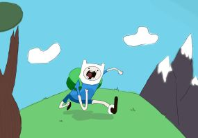 Finn The Human by LittleForestExplorer