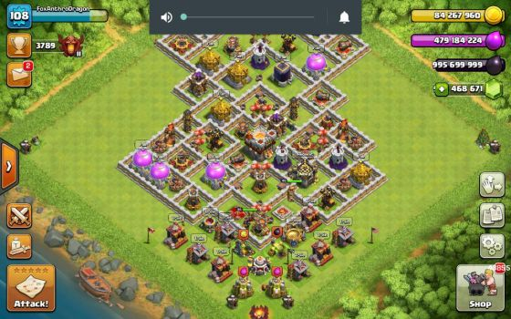 Maxed base! (private server) by CharaMur