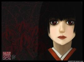 Jigoku Shoujo Enma Ai by miiin04