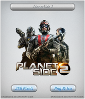 Planetside 2 - Icon by Crussong
