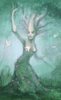 Dryad by 1Niska