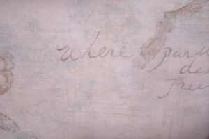 Vintage writing, paint - paper by paintresseye