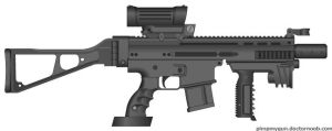 M-51 SFC Special Forces Carbine by BurnerMeen