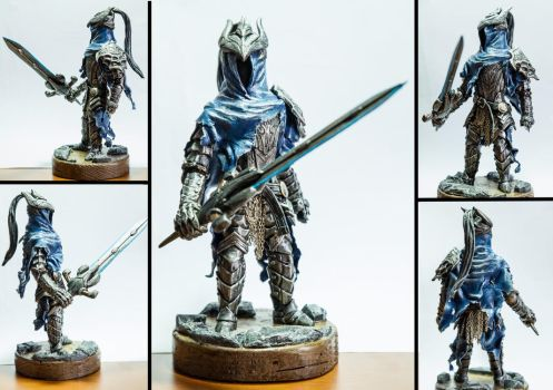 Knight Artorias (commission) by RetardedDogProductns