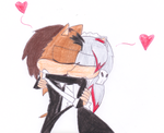 Georgen x Akyushi Making out by sonic4ever760