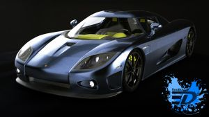 Koenigsegg CCX-R by Rooboy3D