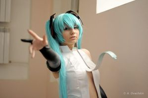 Hatsune Miku Append cosplay by Yuriros
