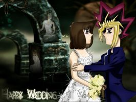 Yami x Anzu Wedding by YamiAnzu39