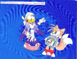 Tails revenge on Wave by spongefox