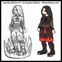 Anarchy Skelton C2 by JohnColburn