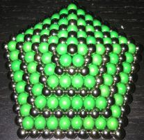 Hexagonal Pyramid (Icosahedron Top Large) by Rhys-Michael