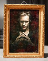 Framed Portrait of Eric Northman by riogirl9909