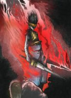 Fire of the Wrath of God CGed by vegeta2711