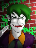 Joker - Young Justice by ElementalAngel