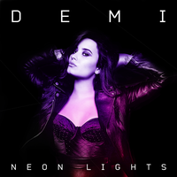 Demi Lovato - Neon Lights (My Cover Art) by Wyrywny