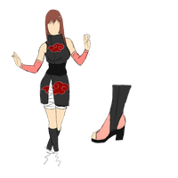 Piwy Akatsuki outfit for piwylullaby by NellyMonster