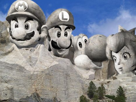 Mount Nintendo by Phillysoul11