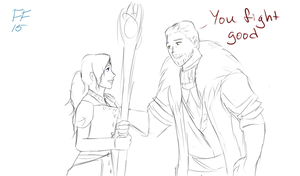 Cullen flirting by Silverwing100