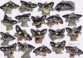 Scram expressions coloured by TheCrazyOneOfTheGang