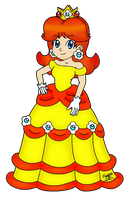 Princess Daisy Collab Entry by SilverxYoshi