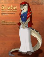 [Character Auction] Native American Zodiac: Snake by Ulario