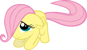Poor Filly Fluttershy by isaacmorris