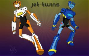 Jet-Twins! by Isenval