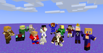 Hetalia in Minecraft :D by ClanWarrior