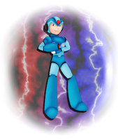 Megaman by CherrySapphire