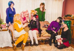 SM - Cookie Fight!! by Eli-Cosplay