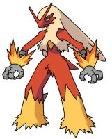 Blaziken by hkv3
