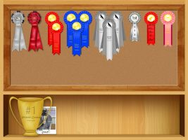 Trophy Board by Rising-High-Ranch