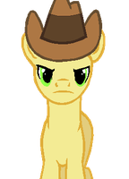 Determined CowPony + Hat by Xingyaru