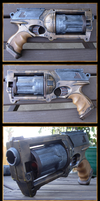 Steampunk Gun Mod - Liberty by iatesatan