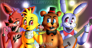 Five Nights At Freddy's *Cartoon Style* by yeidsil